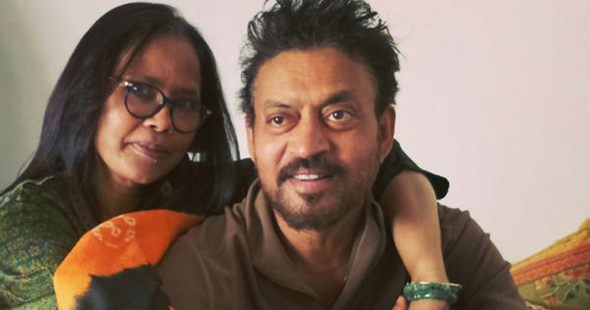 Irrfan Khan's wife Sutapa Sikdar pays tribute to him with moving post