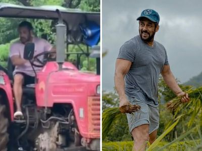SALMAN KHAN APPEARS TO BE LIKE LIKE AN ACTUAL FARMER!