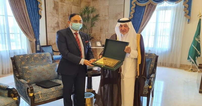 Ambassador Javed Patwary Bilateral meeting with Governor of Makkah