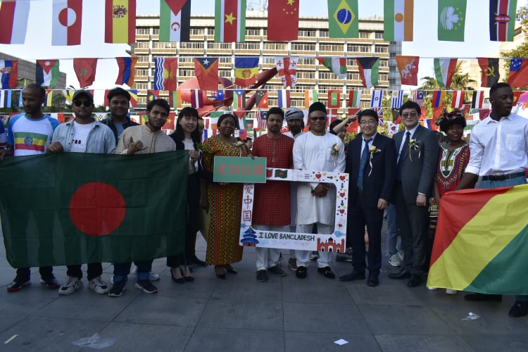 The 6th International Cultural Festival of JUFE held successfully!