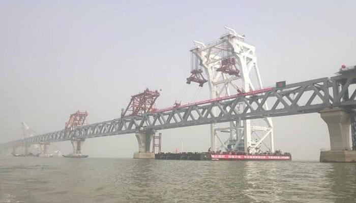 Dream comes true; Last span of Padma Bridge installed