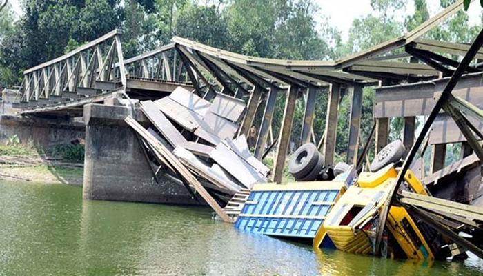 3 killed in Rangamati bridge collapse