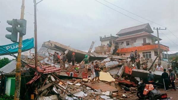 Indonesia earthquake death toll climbs to 34