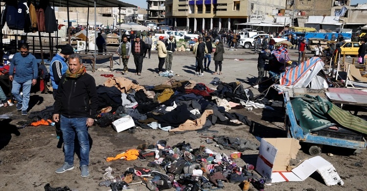 Death toll from Baghdad twin bombings rises to 32