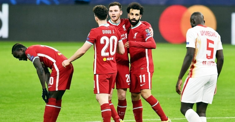 Liverpool beat Leipzig to seal quarter-final spot