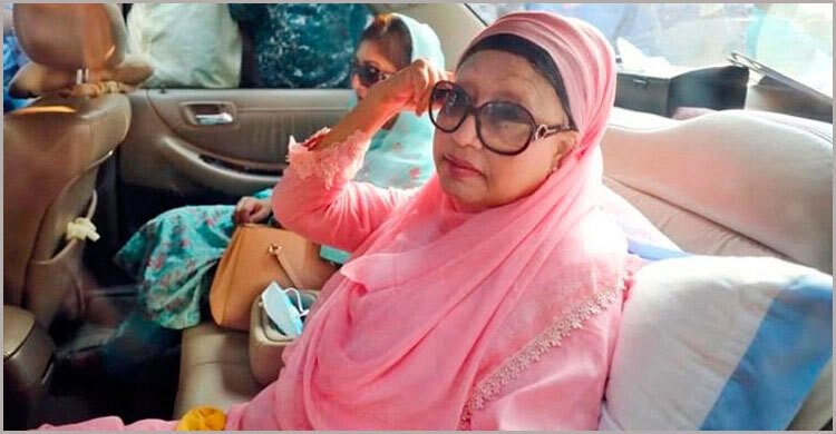Govt again extends suspension of Khaleda's jail sentence