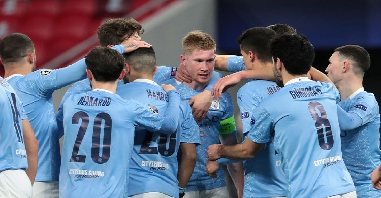 Man City on course to win unprecedented quadruple