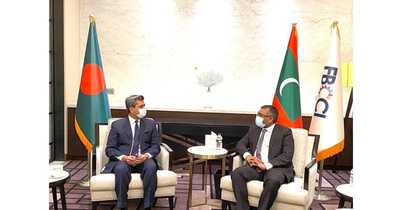 Meeting with Minister of Economic Affairs of the Maldives and FBCCI President