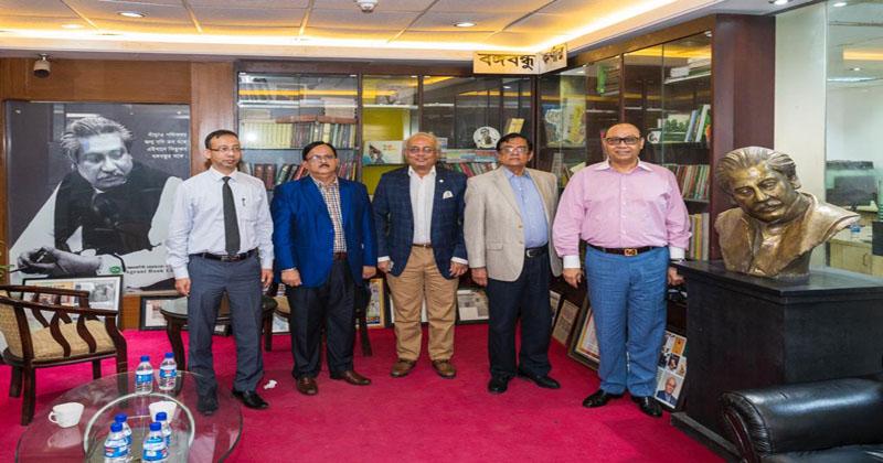 Bashundhara Group and Agrani Bank view exchange held