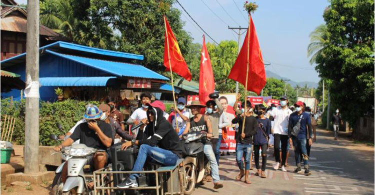 Myanmar security forces kill 13 protesters