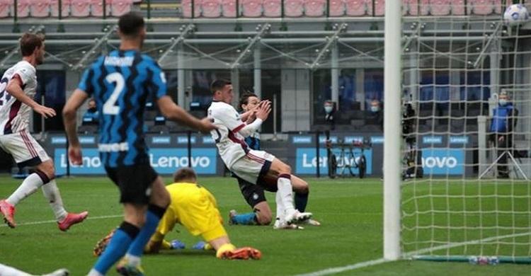 Inter edge out Cagliari to go 11 clear