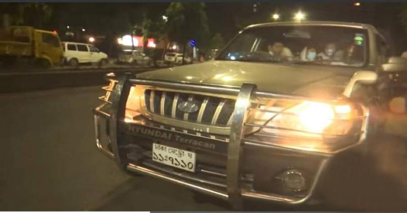 Whom the car belongs to?
