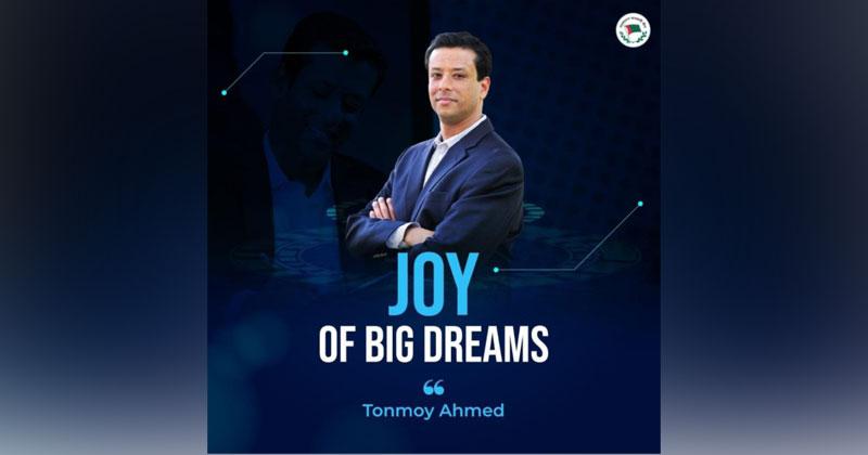 Joy of big dreams